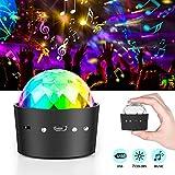 Discokugel Mini Disco Lichteffekte LED Discolicht Partylicht 3W RGB Disco Licht