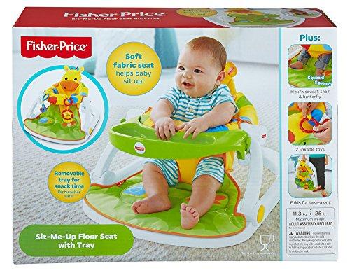 Fisher Price Djd81 Giraffe Sit Me Up Floor Seat Portable