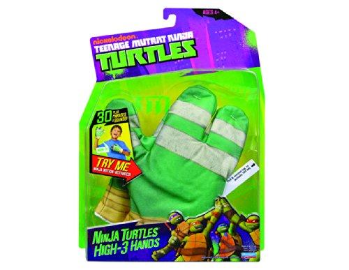 Echte Kostüme Turtle Ninja (Teenage Mutant Ninja Turtles High-3 Interaktive Handscshuhe [UK)