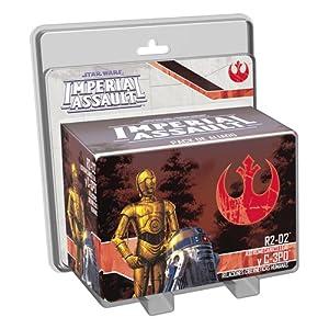 Fantasy Flight Games- Star Wars Imperial Assault, R2D2 y C3PO, Color (Edge Entertainment EDGSWI12)