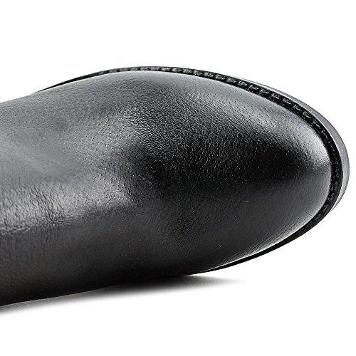 Nine West Brynn Cuir Botte Black