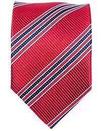 Seidenkrawatte Krawatte rot töne 8 cm breite 100 % Seide verschiende Modelle wählbar