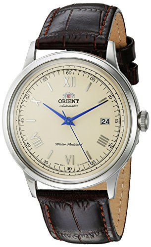 Orient Men's Analogue Japanese-Automatic Watch with Leather Strap FAC00009N0