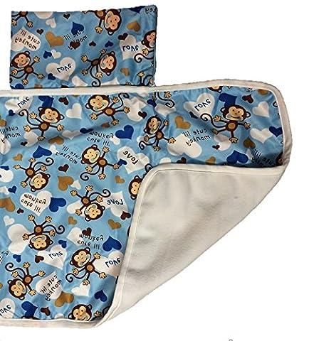 Baby Folding Travel Changing Mat Pad Waterproof Fold away Nappy Portable Foldable Washable MarkUK®