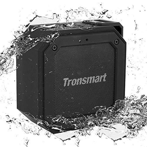 Bluetooth Lautsprecher Wasserdicht,Tronsmart Groove Kabellose Tragbarer 10W Outdoor Lautsprecher mit Bluetooth 4.2,IPX7 wasserdicht,24-Stunden Spielzeit,hervorragendem Bass und 360° TWS Stereo Sound