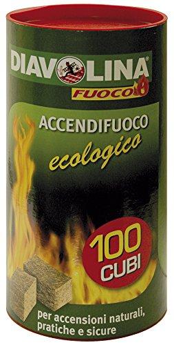 k2calore kt0516–Pack di 100pastiglie Eco di accensione per...
