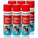 Genuine Wurth freno limpiador disolvente en aerosol spray 500ml x1