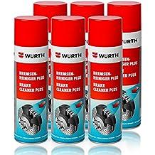 Genuine Wurth freno limpiador disolvente en aerosol spray 500 ml x1 – x96