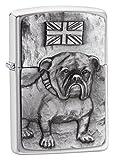 Zippo Bulldog Emblem - Calentadores de Emergencia, Color Plateado