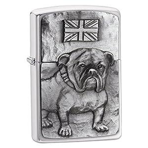 51KZKJwKL7L. SS300  - Zippo Windproof Lighter | Metal Long Lasting Zippo Lighter | Best with Zippo Lighter Fluid | Refillable Lighter | Perfect for Cigarettes Cigars Candles | Pocket Lighter Fire Starter | Dog Collection