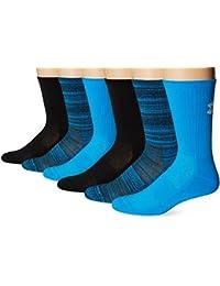 Under Armour - Calcetines de punto para hombre, 3 pares Azul azul eléctrico Talla:large