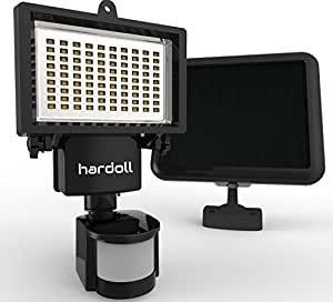 Hardoll 90 led solar powered security lights with 4400 mah battery hardoll bright 60 led solar lights outdoor solar security lights with motion sensor aloadofball Image collections