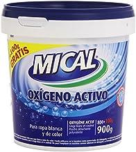 Mical - Oxígeno activo - Para ropa blanca y de color - 900 g