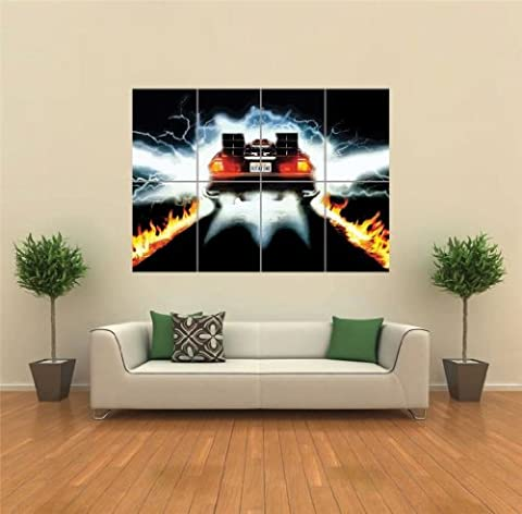 BACK TO THE FUTURE CULT CLASSIC MOVIE FILM GIANT WALL POSTER AFFICHE PRINT NEW G1304