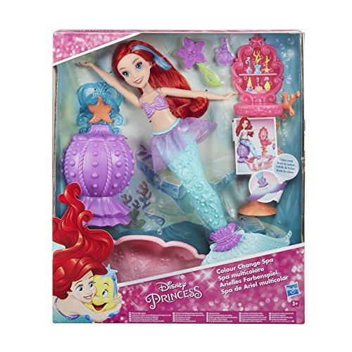 Hasbro Disney Prinzessin C0539EU4 - Arielles Farbenspiel, Puppe