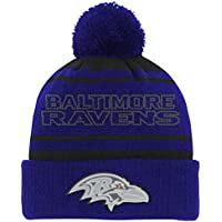 buy online 6b80a 11442 ... order nfl by outerstuff nfl youth boys reflective cuff knit pom hat  a1e8e 2cd2f