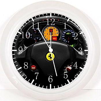 Neon Rim Wall Clock Amazoncouk Toys Games