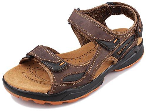 FangstoSports Sandals - Strap alla caviglia Ragazzi uomo , Sports Sandals, Marrone