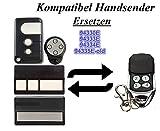 Kompatibel mit Chamberlain Liftmaster 94335E | 8747E | 84330EML | ML 500 Garagentor Fernbedienung Sender Ersatz, 4 Kanal Kompatibel Handsender 433 Mhz, Key Fob