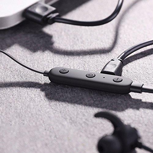 Sport Cuffia Bluetooth Connessione Wireless in-Ear W UNO per Due Telefoni Cellulari Intelligenti Universali Compatibili.