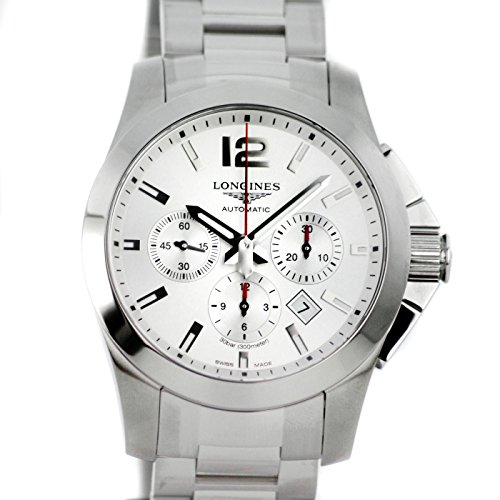 Longines Watch Conquest Automatic White Dial