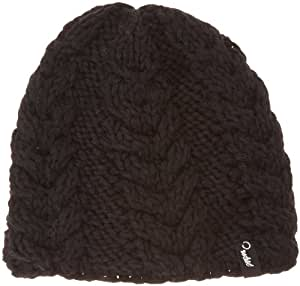 Protest Biscuit 13  Bonnet femme True Black FR : Taille Unique (Taille Fabricant : 57 cm)