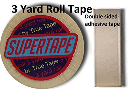 Supertape 1 X 3 Yard Roll Tape Non Glare Lace Wig by True Tape