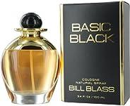 Bill Blass Basic Black for Women, 3.4 oz Cologne Spray