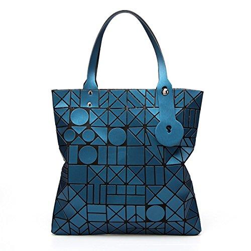 Regenbogen Tasche Schulter Handtasche Laser Leuchtend Geometrisch Verfärbung Handtaschen Messenger Bag Green