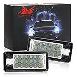 Win Power LED Lizenz Kennzeichenleuchte Kit weiß No Error Lampe 18 SMD,2 Stücke