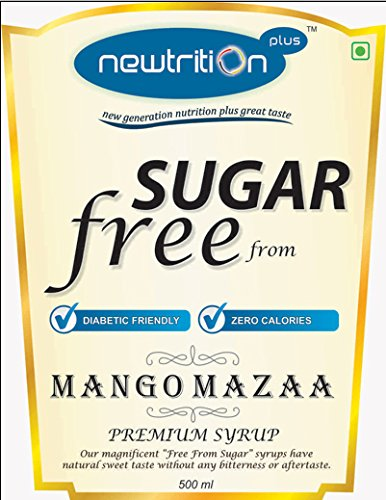 Newtrition Plus Mango - Sugar Free Syrups 500 ml
