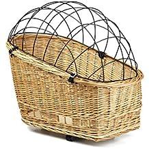 Beeztees cesto in vimini per portapacchi con cappuccio, 45x 23cm _ P