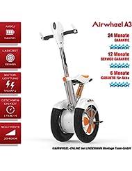 Patinete Eléctrico/S de monociclo airwheel A3. Batería 520Wh. Potencia del motor 550W * 2(sin permiso de circulación)