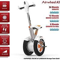 AIRWHEEL A3 Patinete Eléctrico/S de monociclo. Batería 520 Wh. Potencia del motor 550 W * 2