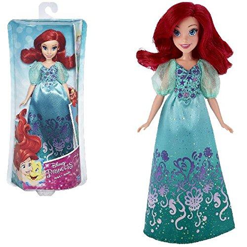 Merida Kleid Disney (Hasbro Disney Prinzessin B5285ES2 - Schimmerglanz Arielle,)