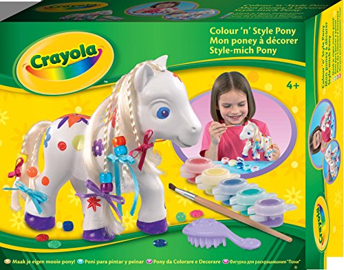 Crayola 10158DM - Style-mich Pony (Crayola Aufkleber Und Farbe)