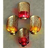 Tiedribbons® Wall Mounted Tea Light Holder | Wall Sconces Tealight Candle Holder | Tealight Holder Hanging | Diwali Decoration Hanging | Diwali Lights For Decoration