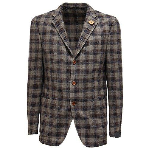 97640-giacca-grigio-marrone-blu-lardini-lana-capo-spalla-giacche-uomo-jacket-men-50