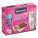 Vitakraft Katzenfutter Poesie DeliSauce, Multipack Fisch - 6 Beutel