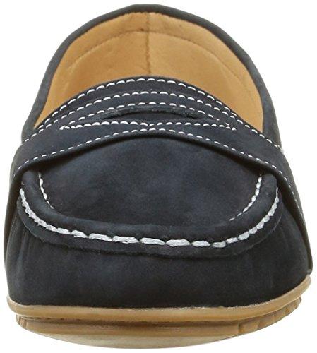 Sebago Meriden Penny, Mocassins (Loafers) Femme Bleu (Navy Nubuck)