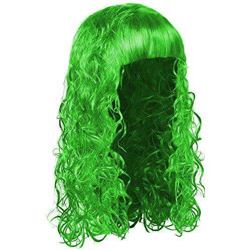 sching oder Karneval für Damen und Herren - Neon Grün ()