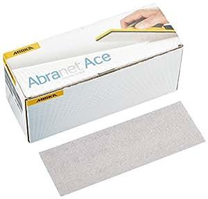 MIRKA AC15005025 Abranet ACE P240 Grip, 70 x 198 mm (50 Per Pack