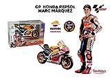 Tavitoys métal-Moto GP Racing Honda Repsol Marc Marquez échelle 1: 10,...