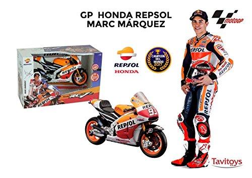 Tavitoys Moto Metal GP Racing Honda Repsol Marc Márquez Esc, (31409)