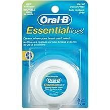 Oral-B Essential Floss Seda dental, Cera, Menta - 10 g
