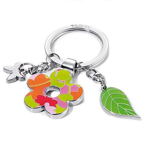 TROIKA Schlüsselanhänger Flower-Power