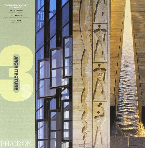 Twentieth-Century Classics: Bauhaus, Dessau, 1925-26, Unite D'Habitation, Marseilles, 1945-52, Salk Institute, La Jolla, California, 1959-65 (Architecture 3s) Sharp 52