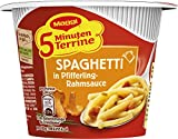 Maggi 5 Minuten Terrine Nudeln in Pfifferling-Rahmsauce, 8er Pack (8 x 54 g)