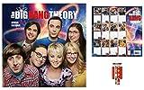Set: Big Bang Theory, Offizieller Poster Kalender 2018 (30x30 cm) Inklusive 1x Armband (10x2 cm)