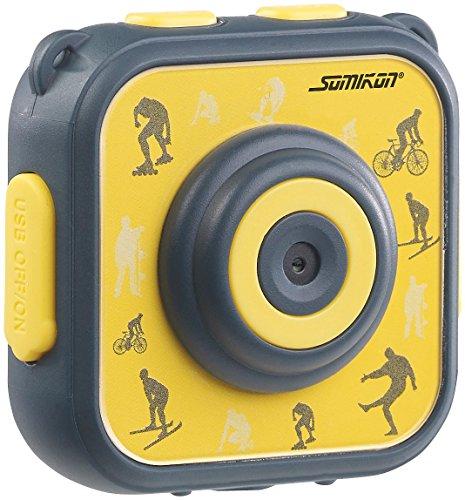 Somikon Kinder Kamera: Kinder-HD-Actioncam mit Unterwasser-Gehäuse & 6 virtuellen Foto-Rahmen (Einsteiger-Actioncam)